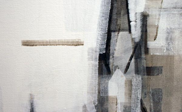 Wessel Huisman - June 1965 - 180x140cm Acrylverf op linnen (detail)