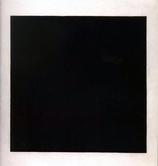 Kasimir Malevich - Suprematisch zwarte vlak