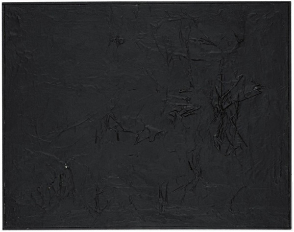Robert Rauschenberg - Black Painting