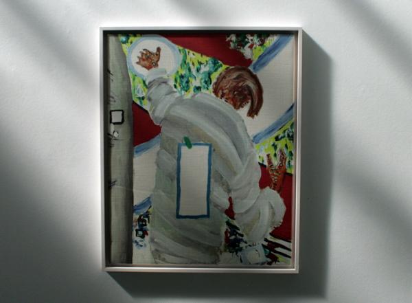 Roger Raveel - Een magisch gebaar - 100x85cm Inkjet op doek