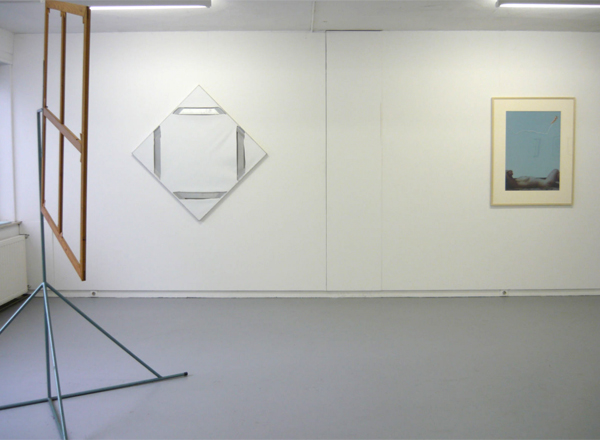 Marinus Boezem - Revolving Panel & Marc Bijl - Power Structure (After Mondriaan) & Onbekend