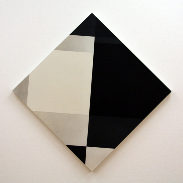 Marthe Wéry - Composition Geometrique - Acrylverf op hout