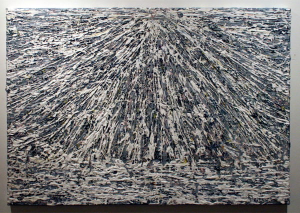 Gijs van Lith - Landscape (no 1) - 70x100cm Olieverf, acrylverf, alkyd en spuitbus op canvas.jpg