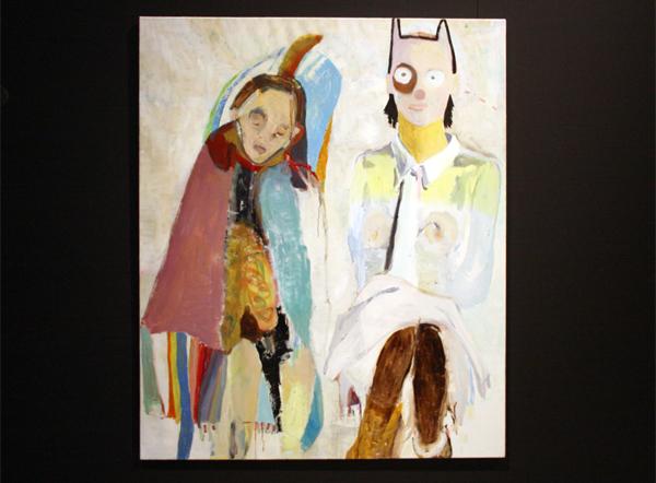 Hanan Klein - Zonder Titel 2 - 170x140cm Olieverf op doek