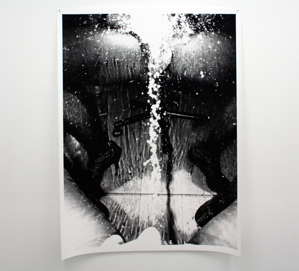 Hester Scheurwater - Pissing Against Mirror - Robert Mapplethorpe