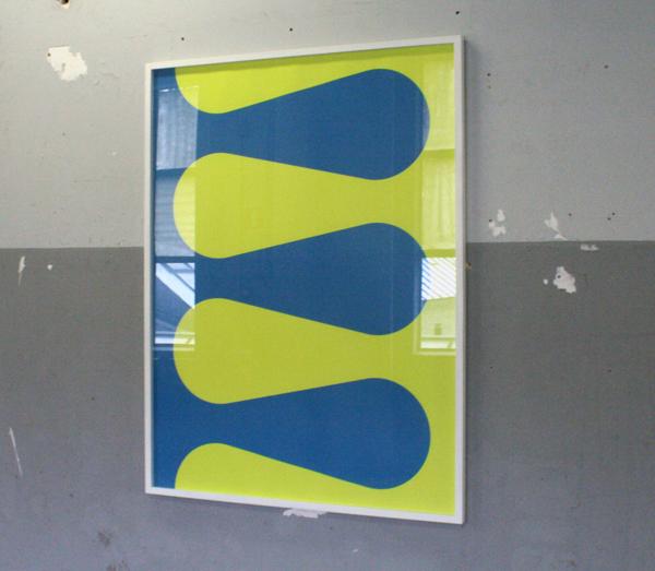 Jan van der Ploeg - Wave - 160x120cm Zeedruk