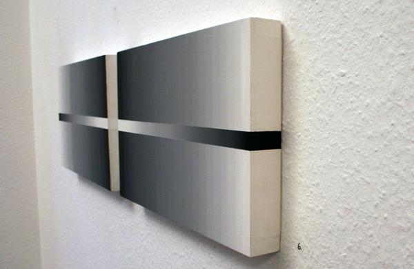 Linda Arts - ZT #193 - 25x85cm Olieverf op paneelen (detail)