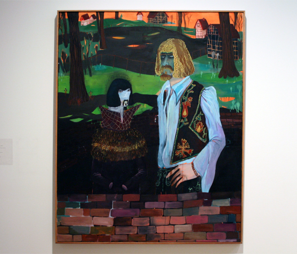 Marie Aly (1980) - Zwei prachtige Bruder - Olieverf op doek