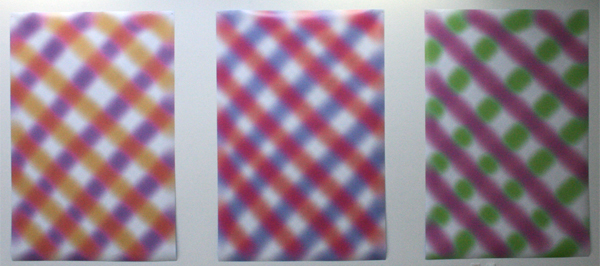 75B - Incoming I, II, III - Inkjet prints
