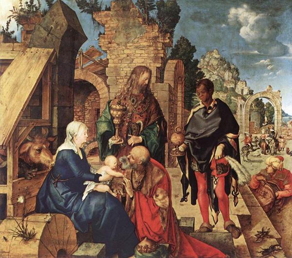 Albrecht Dürer - Aanbidding der wijzen
