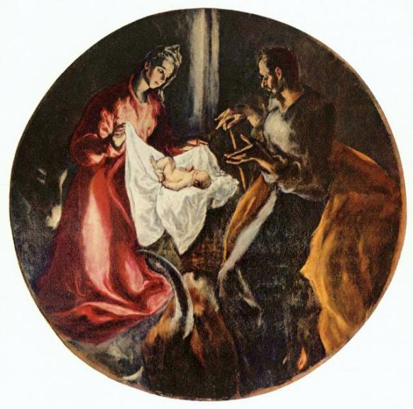 El Greco - de Ontvangenis