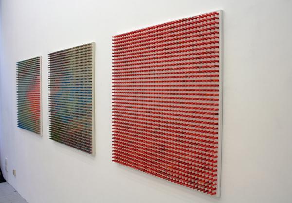 Elbert Mulder - Untitled - 100x100cm Miixed Media