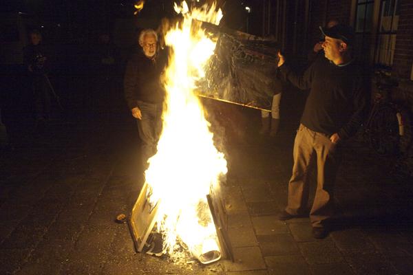 Gijs van Lith beland in de vuurkorf