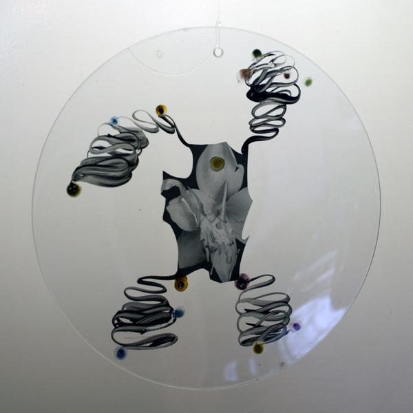 Marc Mulders - Zonder Titel - 35x35cm Glazen schaal