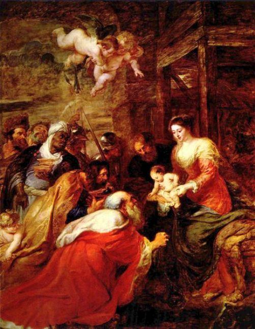 Peter Paul Rubens - Aanbidding door de drie wijzen uit het Oosten