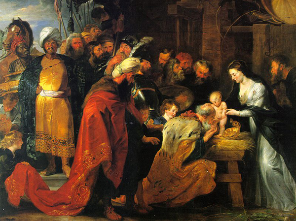 Peter Paul Rubens - De aanbidding der wijzen