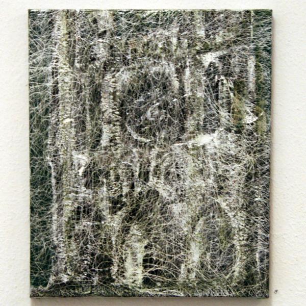 Reinoud van Vucht - Zonder Titel - 60x50cm Olieverf en acrylverf op doek