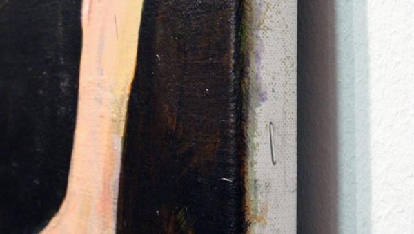Roland Sohier - Bedtime Stories - 100x140cm Olieverf op canvas (detail)