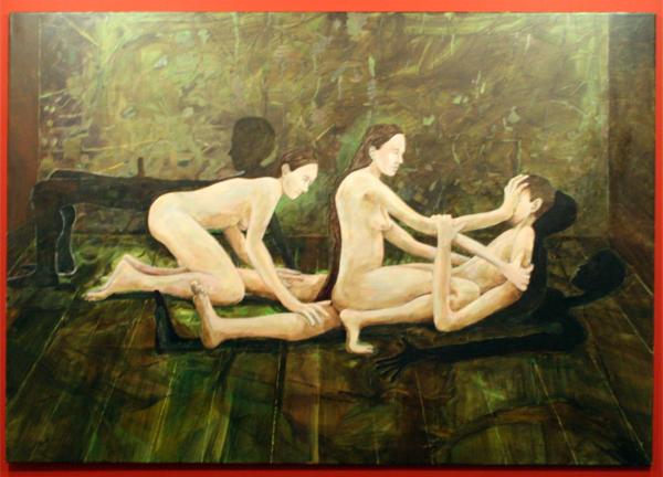Roland Sohier - Resurrection - 140x200cm Olieverf op canvas