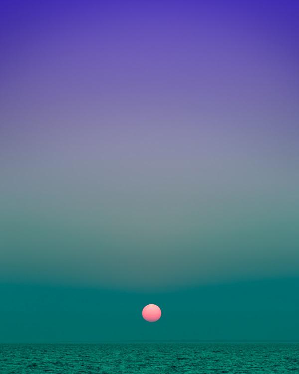 Eric Cahan - Fort Pond Bay Montauk NY Sunset 8 10pm