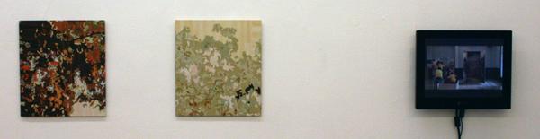Gary Carsley - D84 (fragments 3 & 5) & Zhao Guilin (Singapore) - 33x37cm Lambda Prints en videowerk