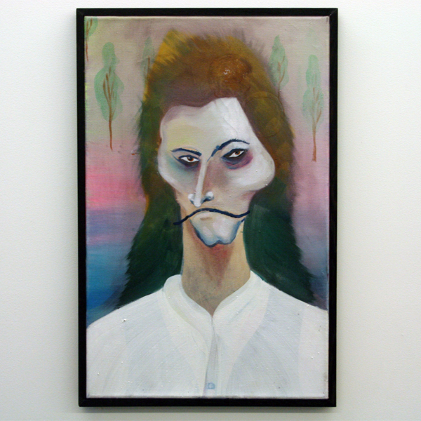 Marie Aly - Witte Ruben - 55x35cm Olieverf op canvas