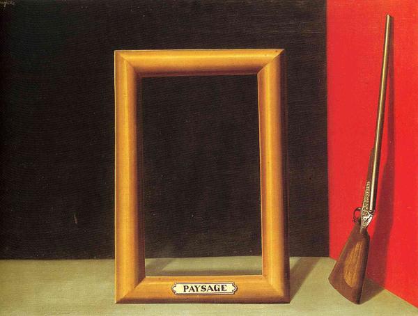 René Magritte - Les Charmes du Paysage - 1929