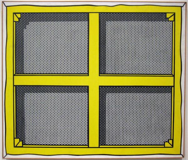 Roy Lichtenstein - Stretcher Frane with Cross Bars III