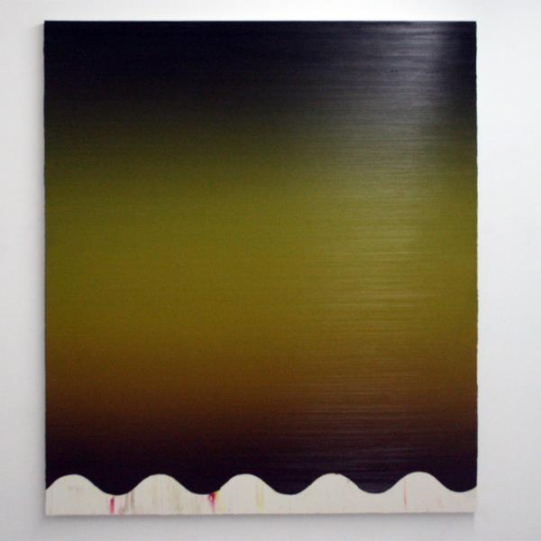 Shaan Sayed - Shoegazer Eleven - 183x168cm Olieverf en filler op canvas