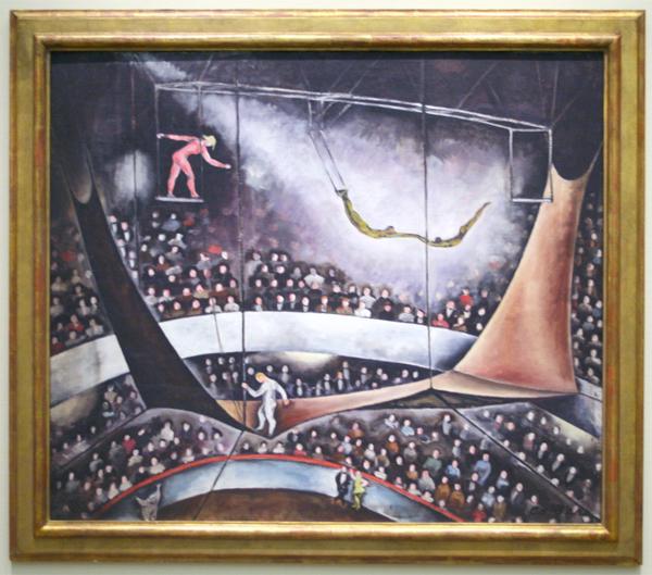 Alexander Calder - De Vliegende Trapeze - Olieverf op doek