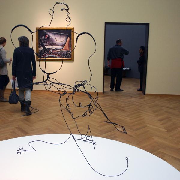 Alexander Calder - Onbekende Titel - Staaldraad