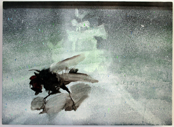 Jop Vissers Vorstenbosch - Another day filled with television #1 - 40x55cm Olieverf en acrylverf op canvas