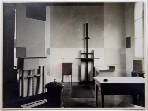 Michel Seuphor, Rosie Ney - Atelier van Piet Mondriaan