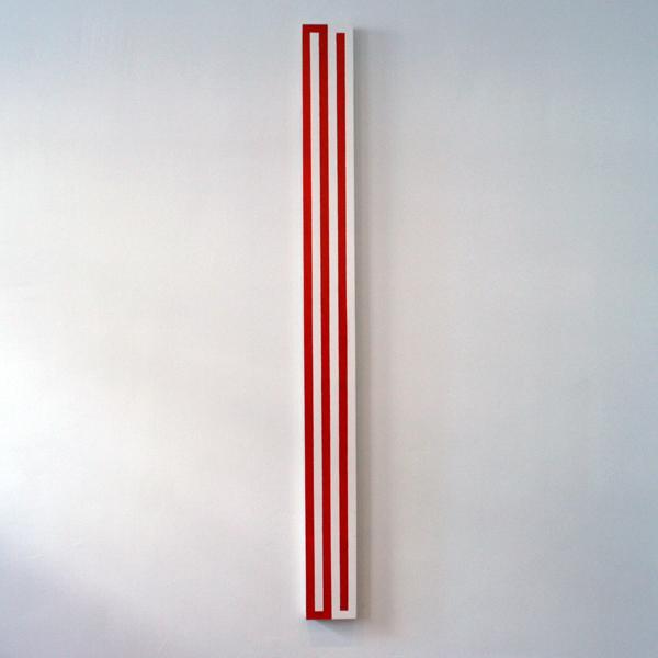 Niek Hendrix - Horizon - 15x171cm Olieverf op doek op paneel