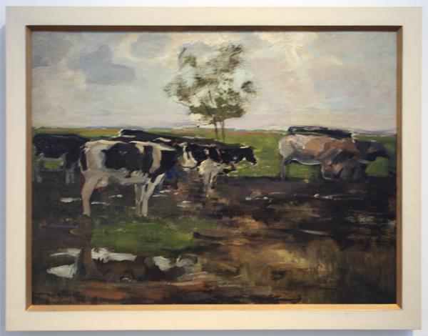 Piet Mondriaan - Koeien in de wei - Olieverf op doek
