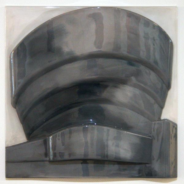 Richard Hamilton - Guggenheim grijs geschilderd - Perspex