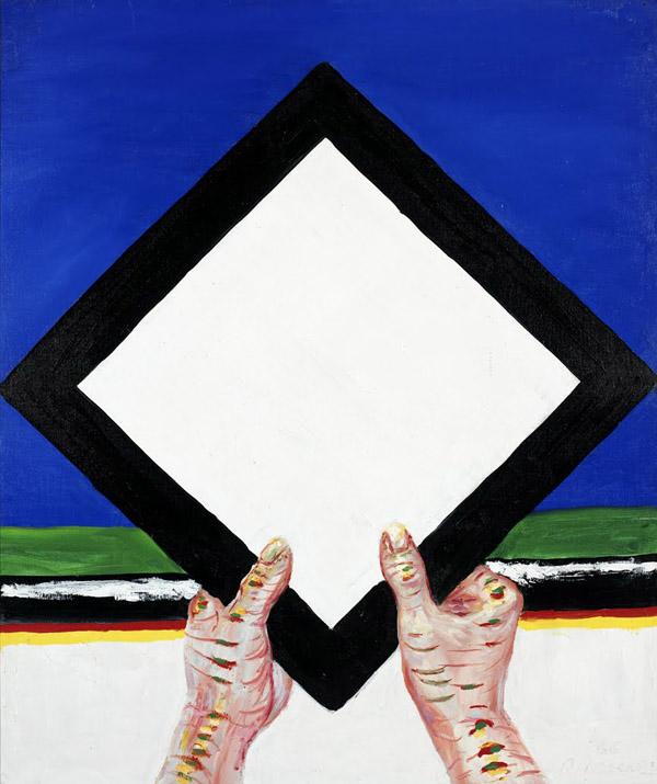 Roger Raveel - Een sacraal vierkant