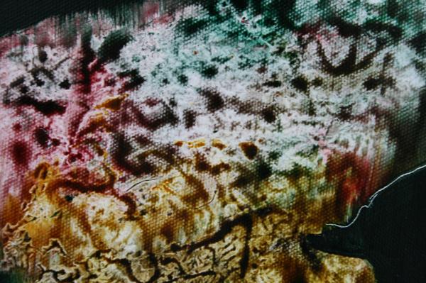 Seth Pick - Loun Stone - 30x40cm Olieverf op canvas (detail)