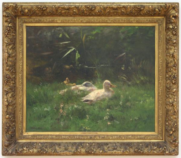 Willem Maris - Eenden - Olieverf op doek