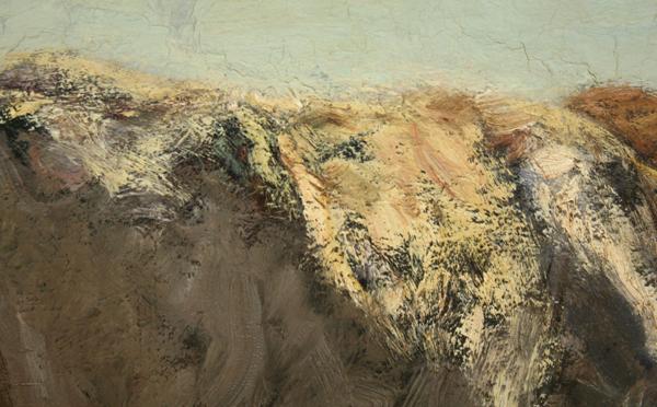 Willem Maris - Koeien aan een plas - Olieverf op doek (detail)