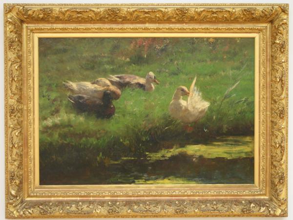 Willem Maris - Zomerweelde - Olieverf op doek