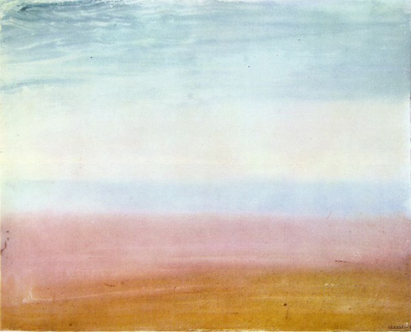 William Turner - Colour Beginning