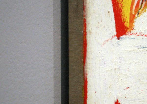 Jean-Michel Basquiat - Untitled - Acrylverf en oliestick op doek (detail)