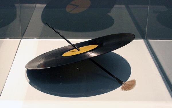 Rene Daniels - Het object - Vinylplaat en penseel