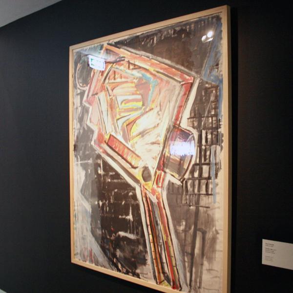 Rene Daniels - Zonder Titel - Acrylverf op papier
