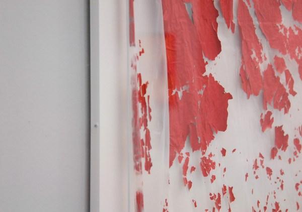Gert Robijns - Red Flag - 2014 (detail)