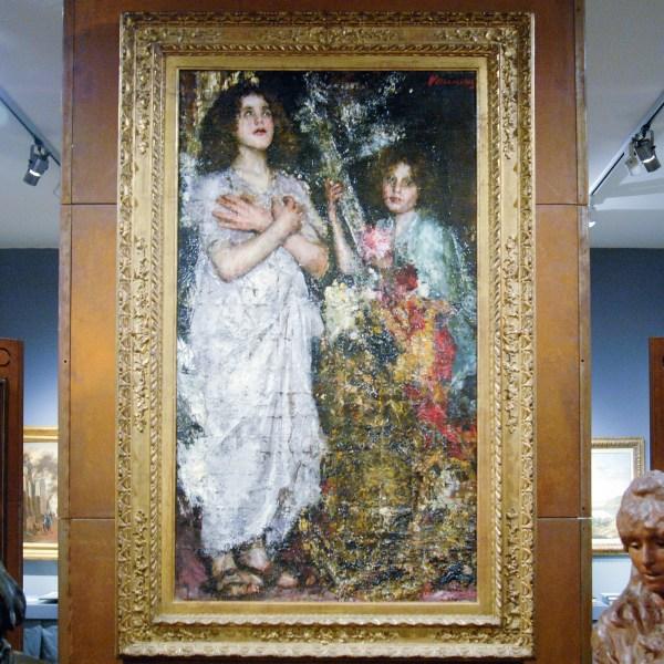 Giacometti Old Master Paintings - Antonio Mancini