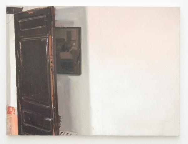 Pere Llobera - Cuadro tras la puerta - 67x91cm Olieverf op canvas