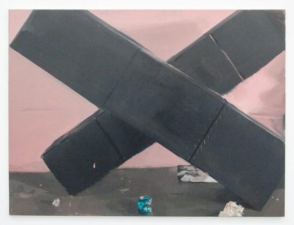 Pere Llobera - Error, correccio, error 2 - 90x120cm Olieverf op canvas