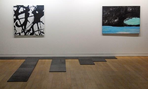 Daan van Golden - 1991 (Stedelijk) & Nicola de Maria 1982 (Van Abbe) & Carl Andre - 1991 (Stedelijk)